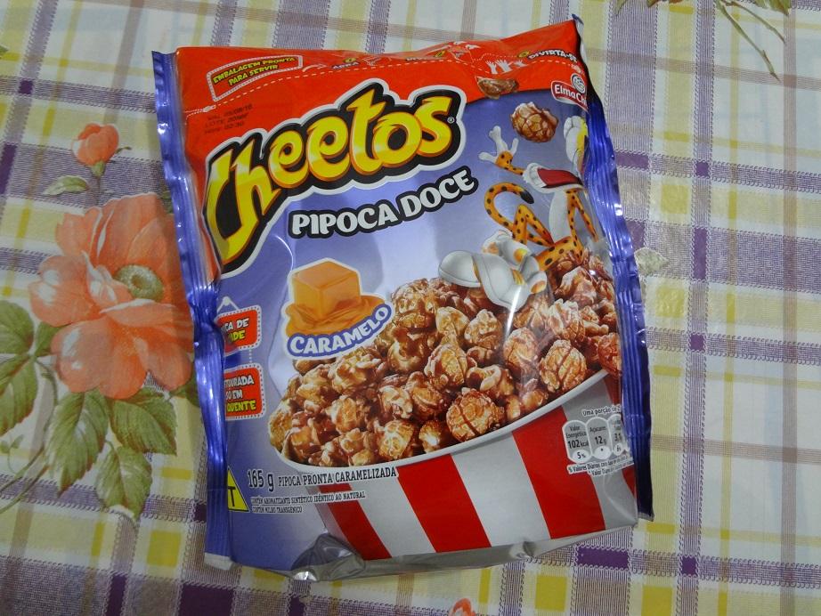pipoca doce cheetos
