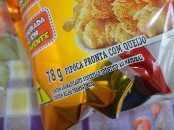 cheetos pipoca queijo