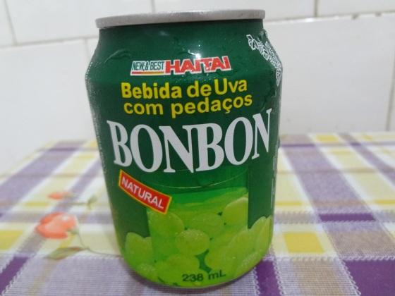 bebida de uva bonbon - haitai