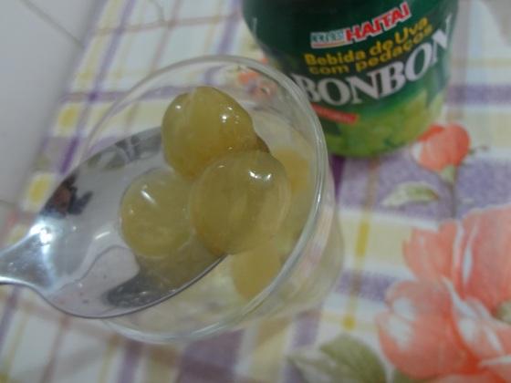 bebida de uva com pedaços BonBon