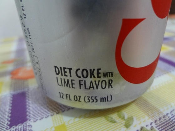 diet coke lime