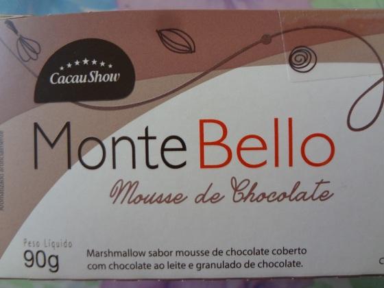 montebello mousse cacau show