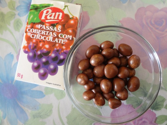 pan passas com chocolate