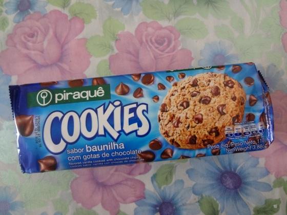 cookies piraquê baunilha