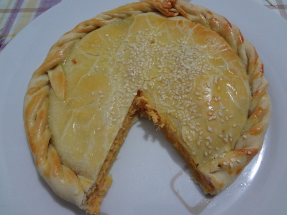 torta de frango hirota