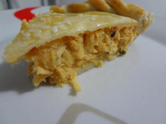 torta de frango hirota food