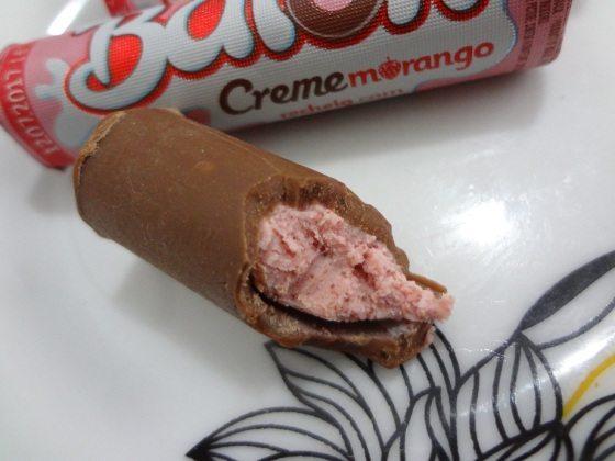 baton creme morango