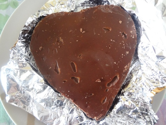 coração de brigadeiro Le Chef Gatô Frescoco
