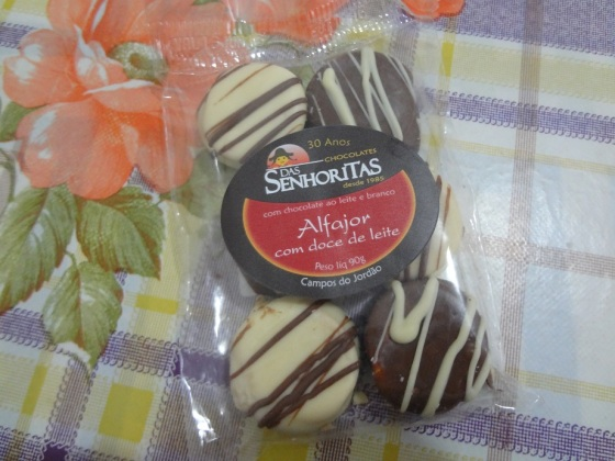 alfajor chocolates das senhoritas
