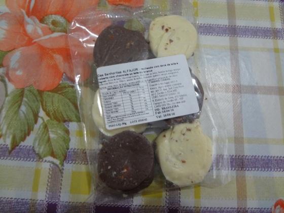 alfajor chocolates das senhoritas
