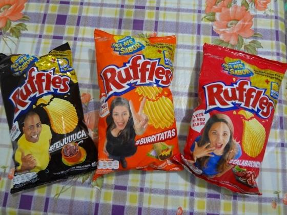 ruffles novos sabores