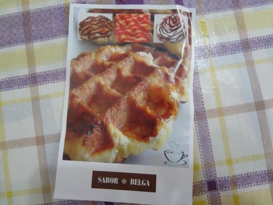 sabor belga waffle