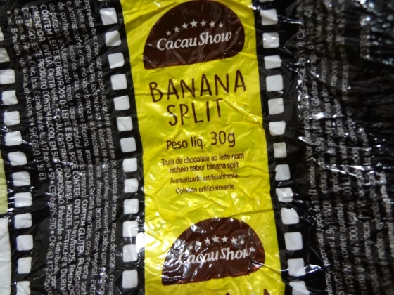 trufa cacau show banana split