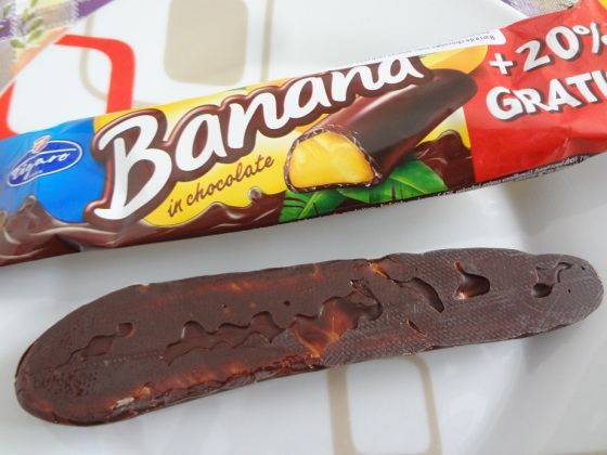 banana com chocolate figaro
