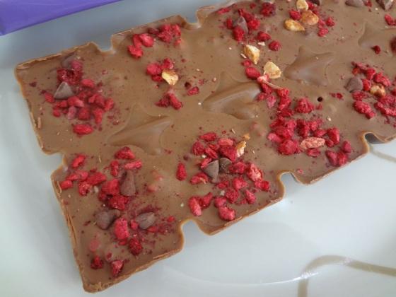 Milka Collage - Raspberry, Hazelnut and chocolate drops