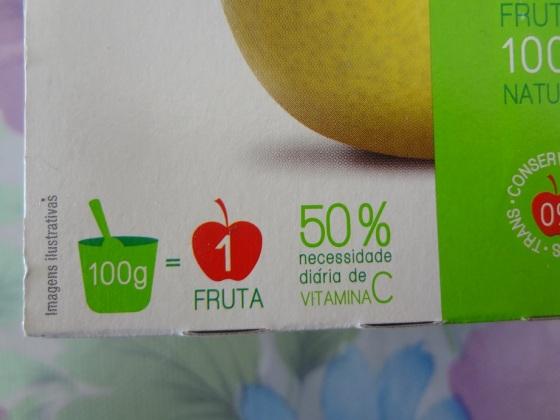 petit fruit pera e maçã