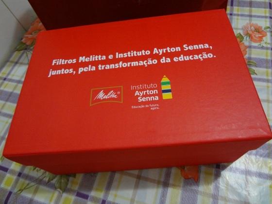 melitta e instituto Ayrton Senna