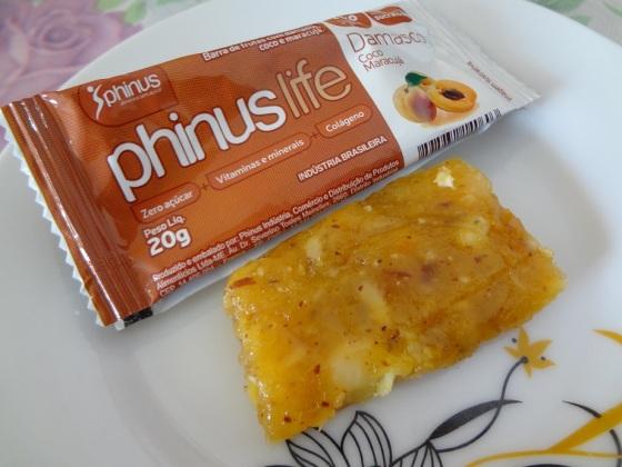 phinus life damasco, coco e maracujá