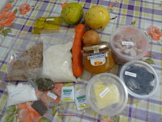 cheftime peru ao molho de laranja e maracujá