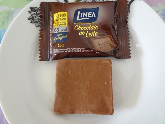 chocolate ao leite linea