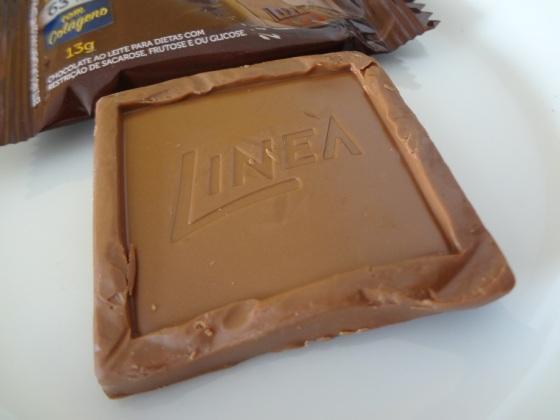 chocolate ao leite linea
