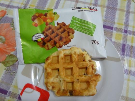 waffle sabor belga