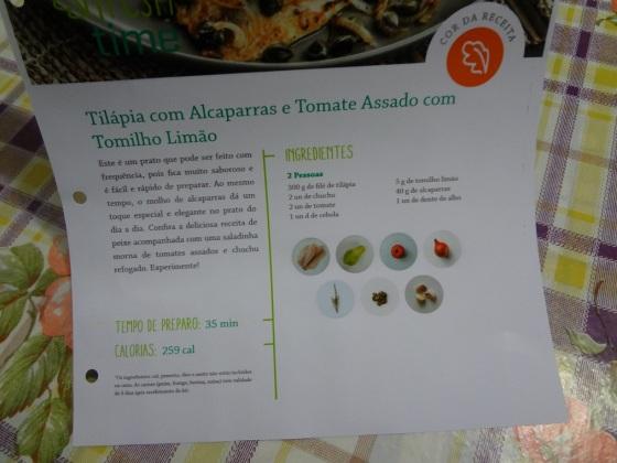 Freshtime tilápia com alcaparra