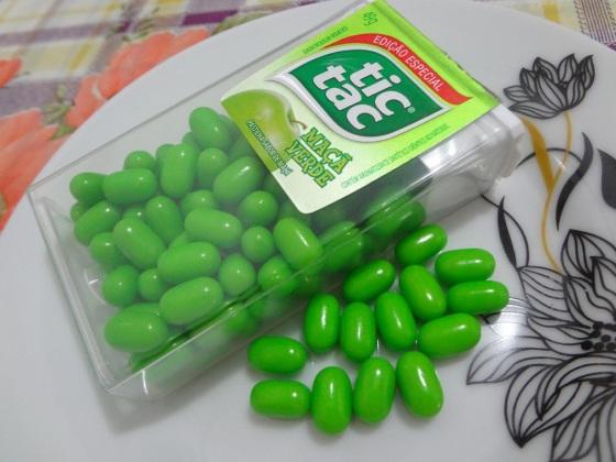 tic tac maça verde