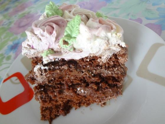 bolo de chocolate a fábrica de delícias