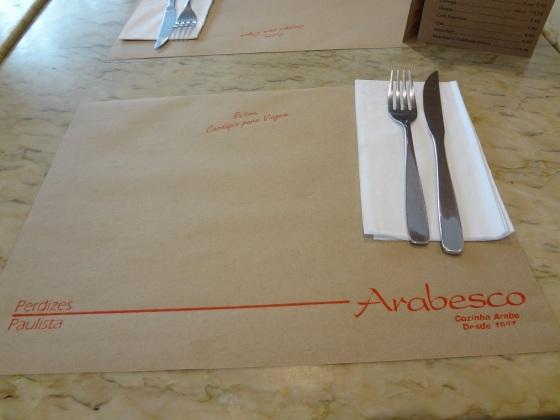 restaurante arabesco 30 anos
