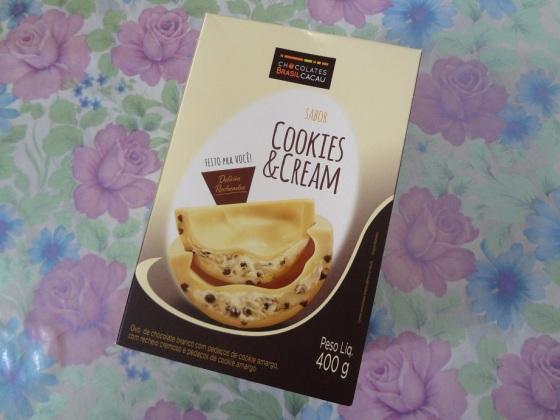 Ovo Cookies and Cream Brasil Cacau