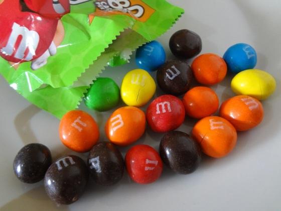 m&ms crispy