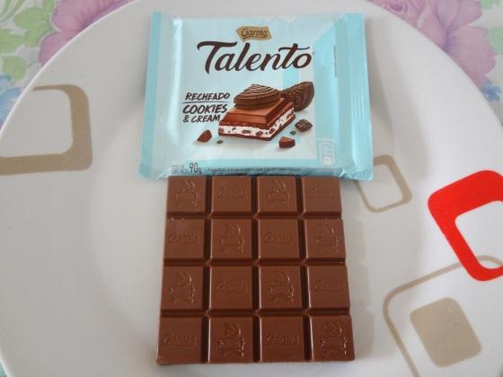 talento recheado cookies and cream