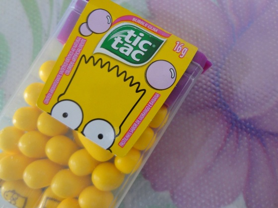 tic tac simpsons